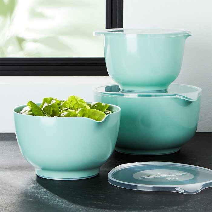 Rosti Retro Green Melamine Mixing Bowls