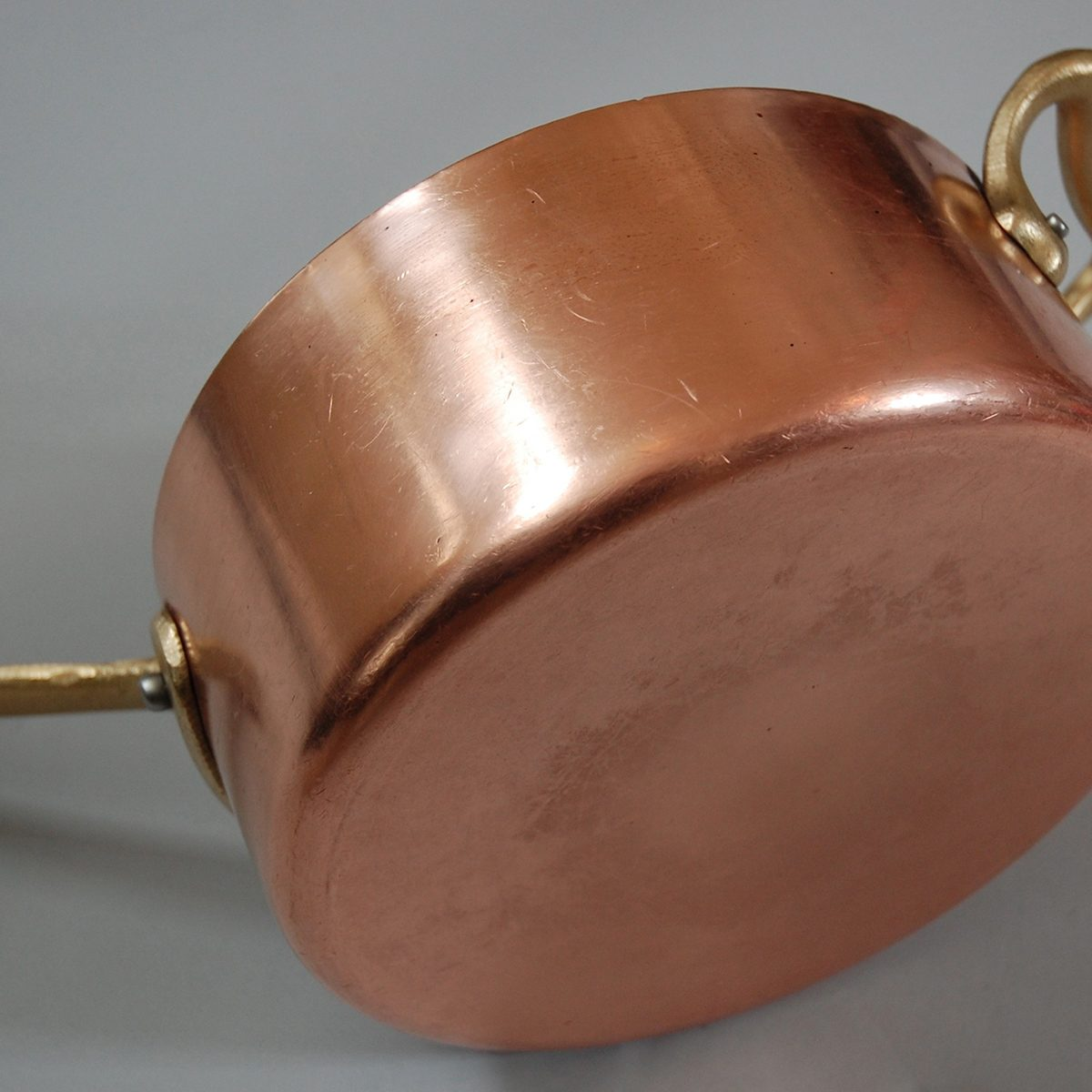 Cleaned Copper Pot (Bottom); Shutterstock ID 1077428501; Job (TFH, TOH, RD, BNB, CWM, CM): TOH
