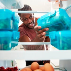 10 Space-Saving Refrigerator Storage Helpers