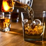 whiskey and natural ice on old wooden table; Shutterstock ID 245954386; Job (TFH, TOH, RD, BNB, CWM, CM): Taste of Home