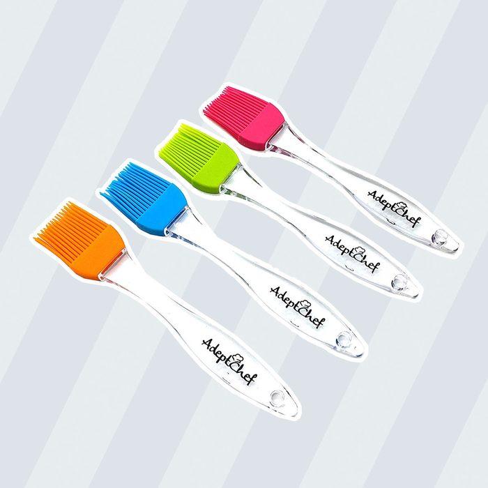 AdeptChef Silicone Basting & Pastry Brushes