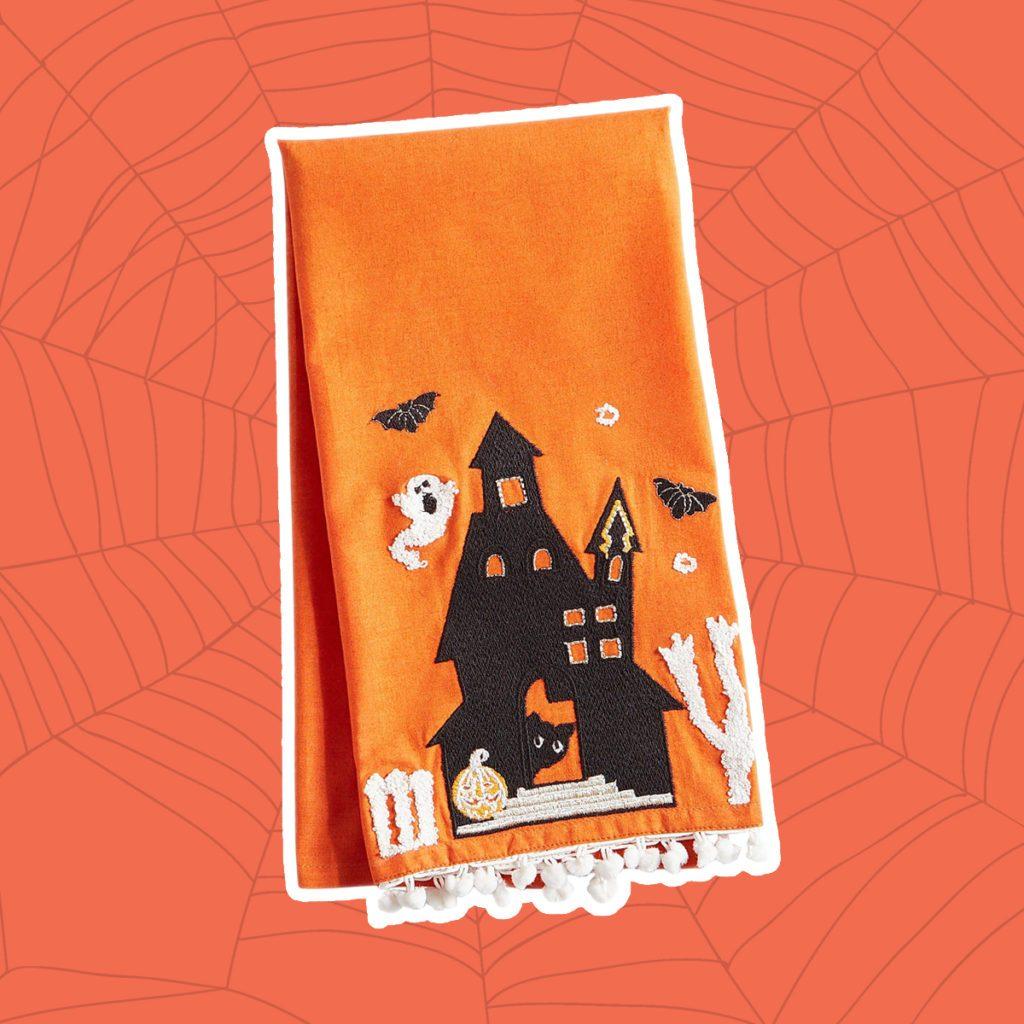 spookyhalloweentowel, pier 1