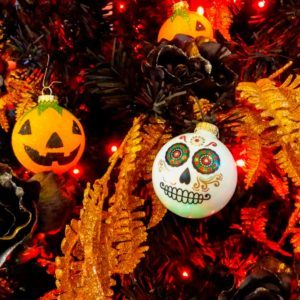 A Halloween Christmas Tree Is the Spooky Decoration You Didn't Know You Needed