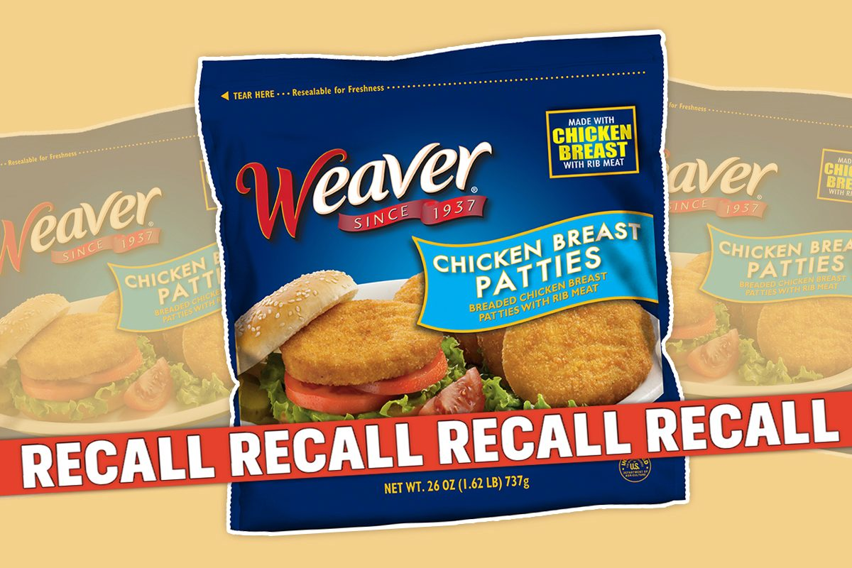 Tyson Foods Just Recalled Nearly 40,000 Pounds of Chicken