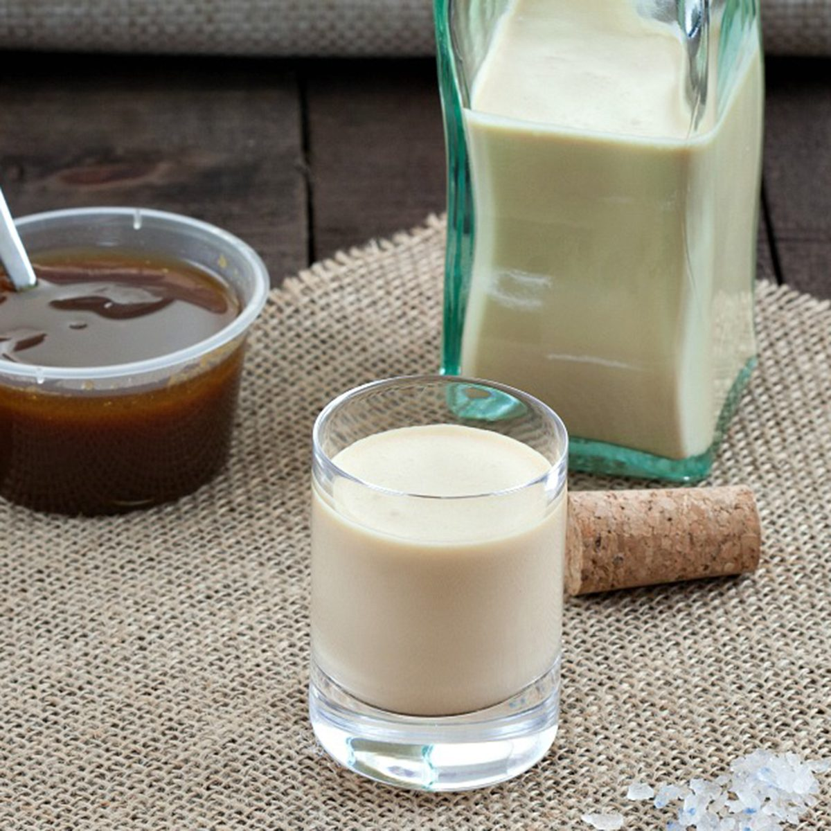 Salted caramel Liqueur