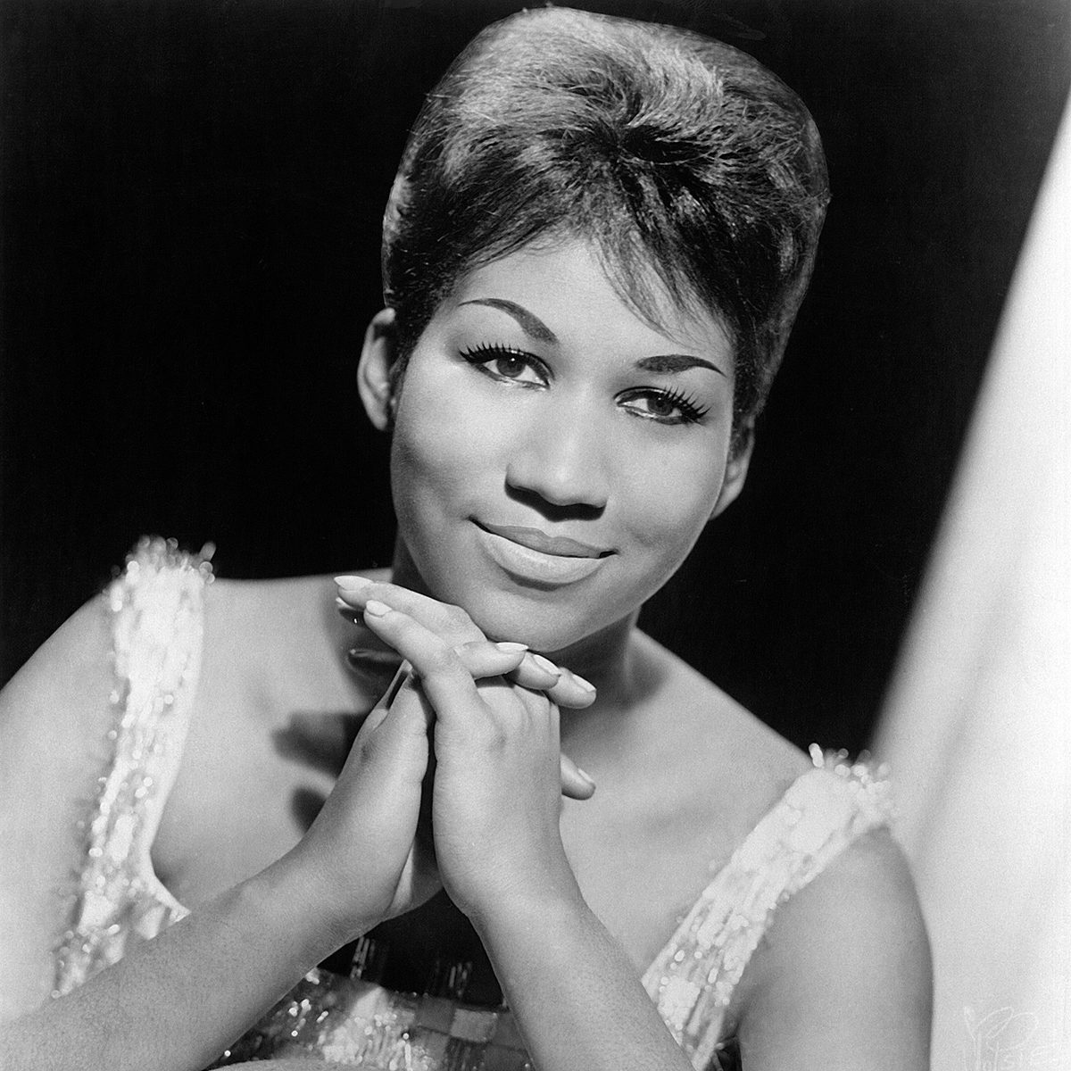 Mandatory Credit: Photo by Everett/Shutterstock (10294149a) ARETHA FRANKLIN, 1964, Columbia Records publicity portrait. Historical Collection