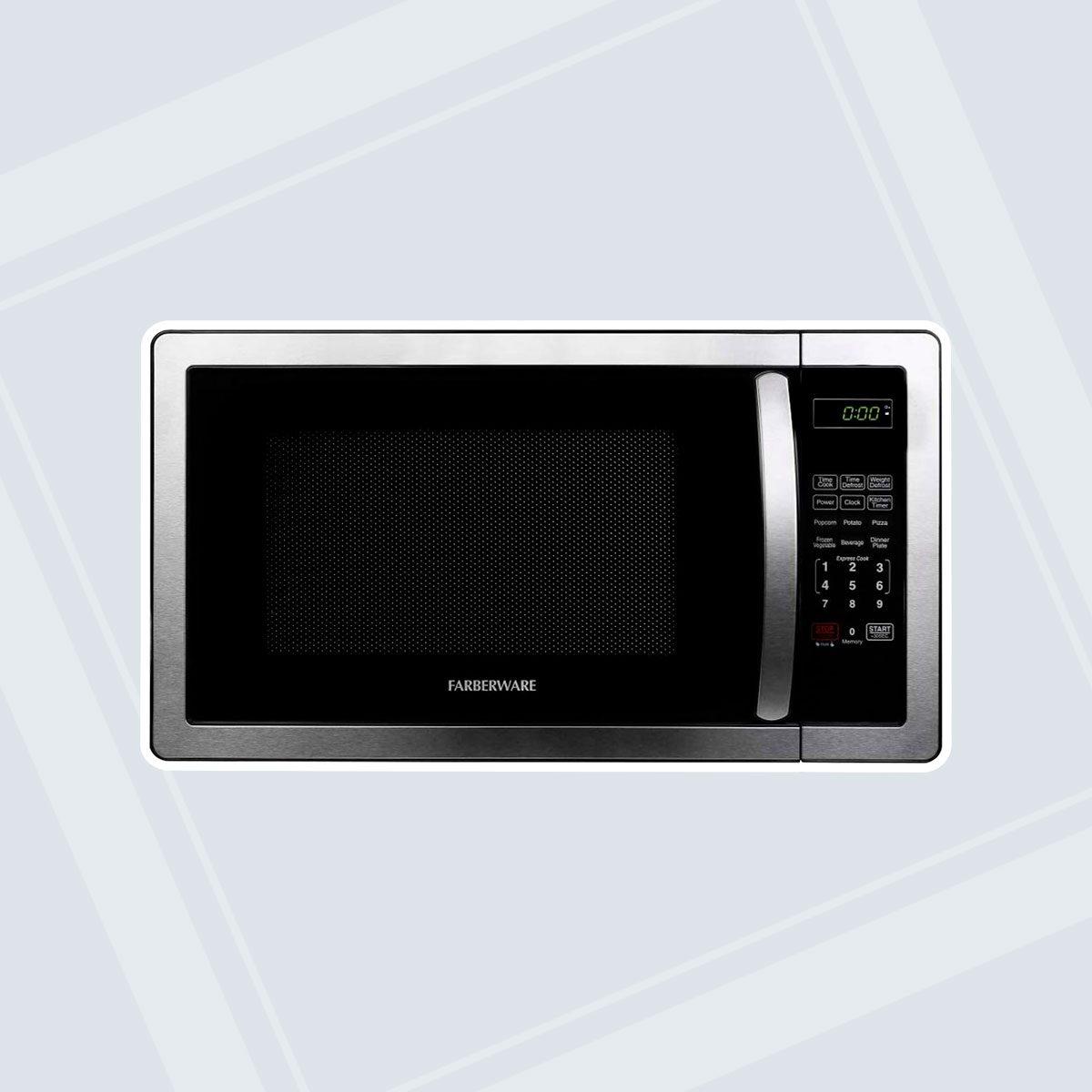 Farberware 1000-Watt Stainless Steel Microwave