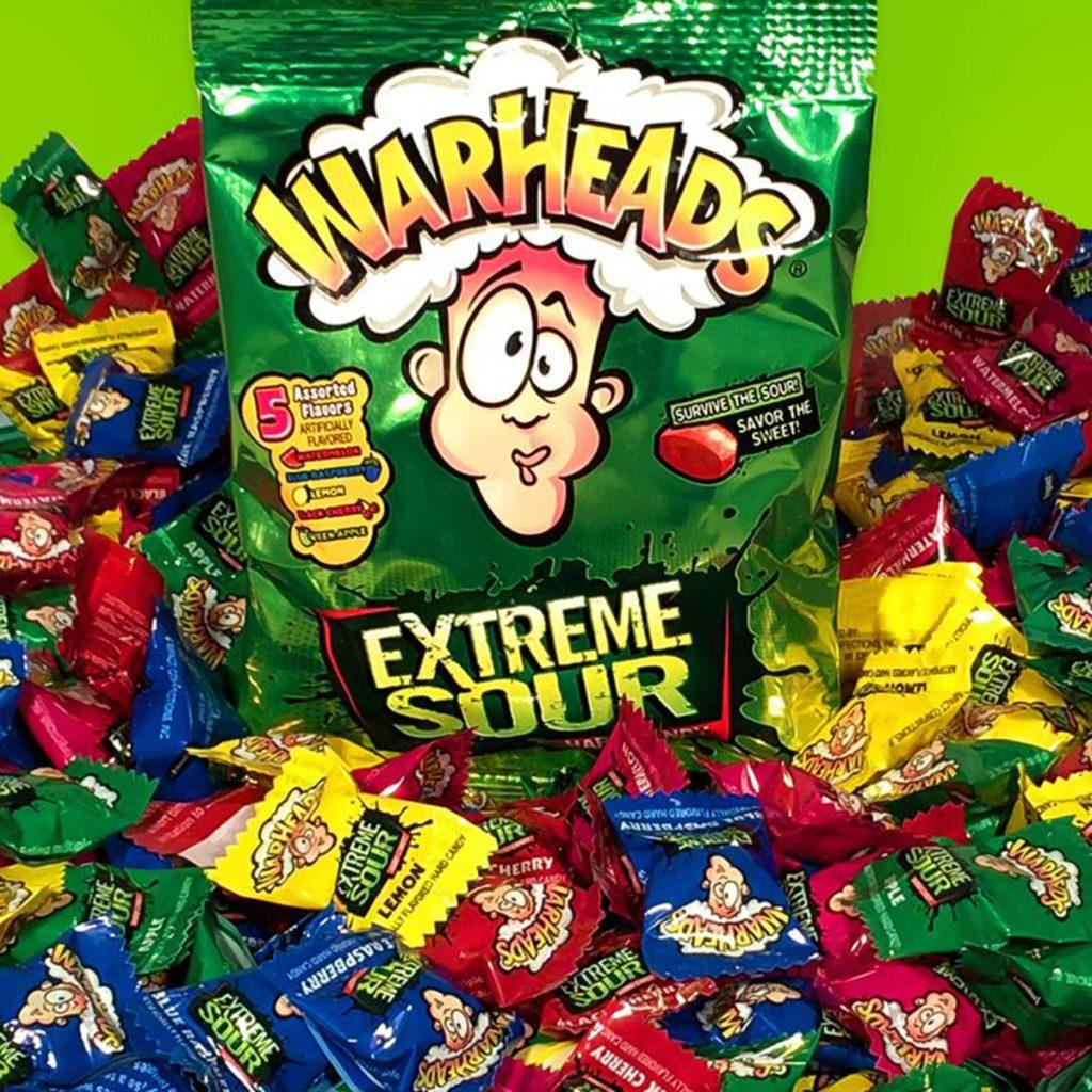 warheads, candy