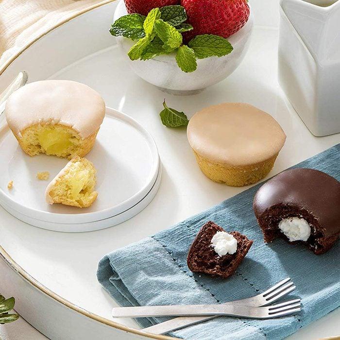 Katz Gluten Free Snacks Heavenly Creme Cake Variety Pack   Chocolate & Vanilla Creme Cake, Chocolate & Lemon Cupcake   Dairy Free, Nut Free, Soy Free, Gluten Free   Kosher