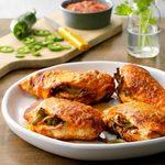 Air-Fryer Fajita-Stuffed Chicken