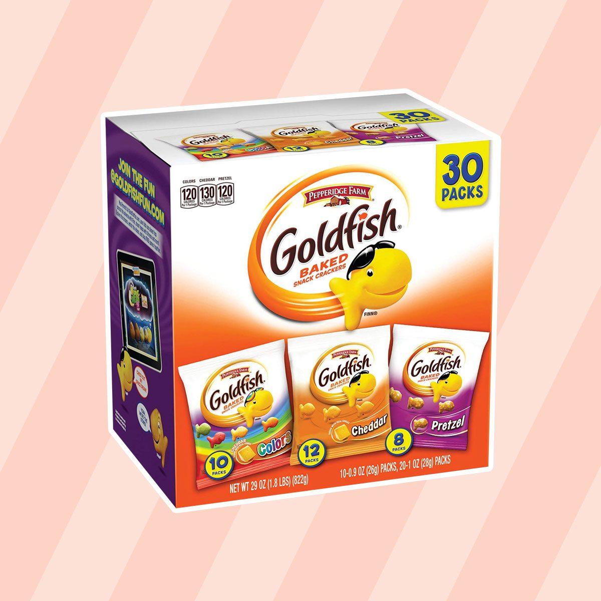 Goldfish Crackers Variety Pack