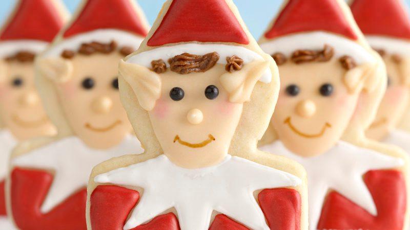 Elf on the Shelf cookies