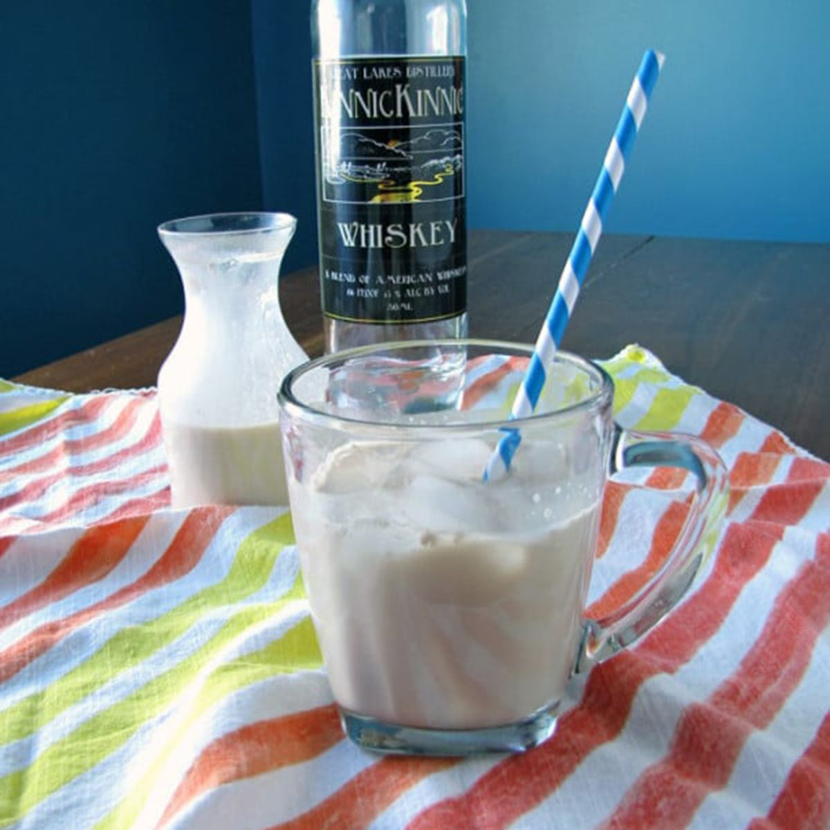 Homemade peppermint Irish Cream