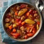 Italian Beef Vegetable Soup