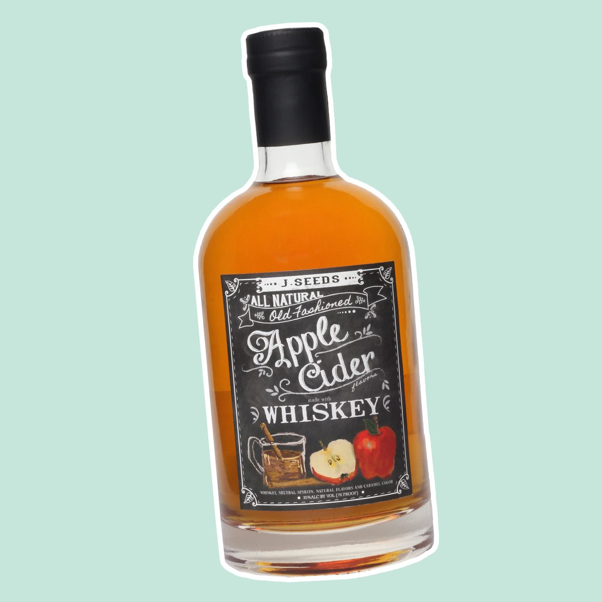 J. Seeds Apple Cider Whiskey