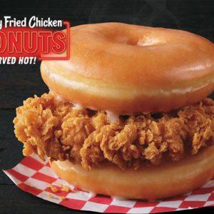 Chicken & Donuts sandwich