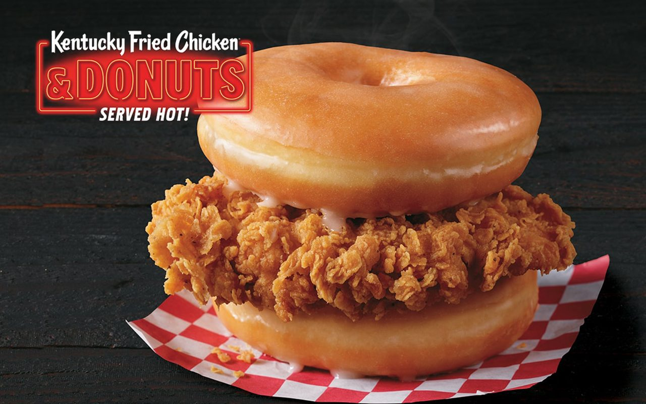 Fried Chicken And Donuts Is KFC's Newest Sweet And Savory Collab