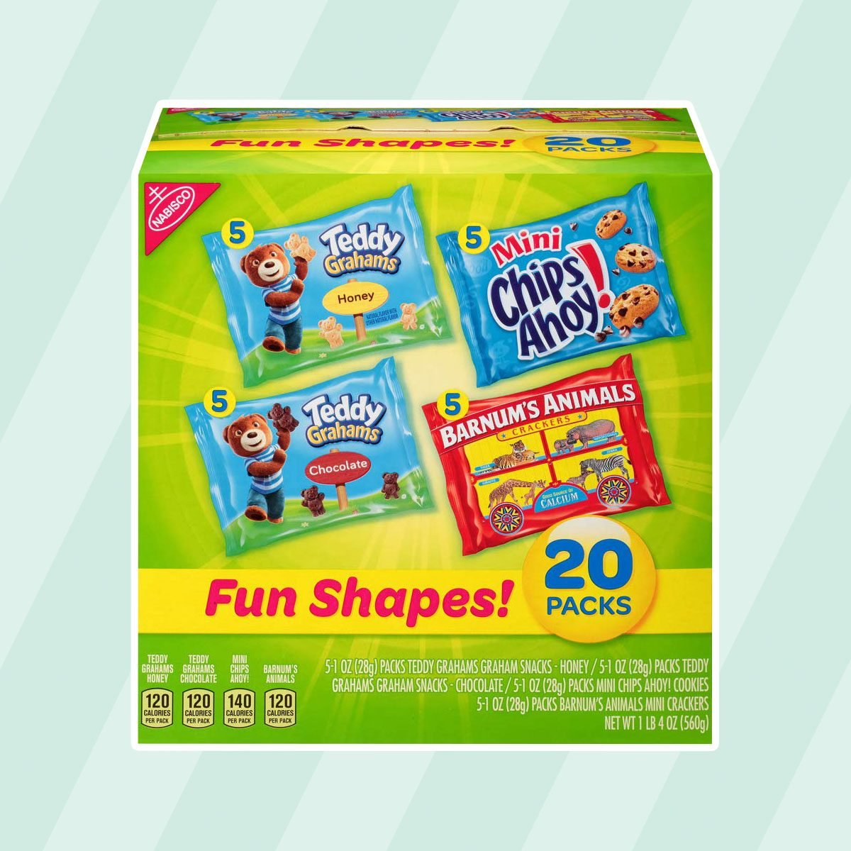 Nabisco Fun Shapes Cookie and Cracker Mix
