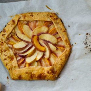 How to Make a Rustic Nectarine Galette