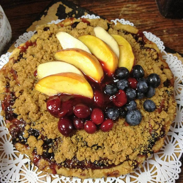 Penza's Pies at the Red Barn Cafe fruit pie