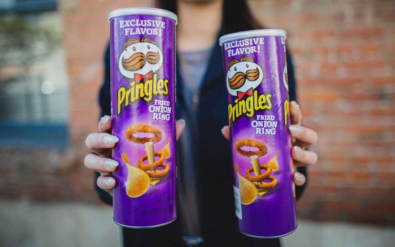 Pringles Just Released A FRIED ONION RING Flavor Nationwide