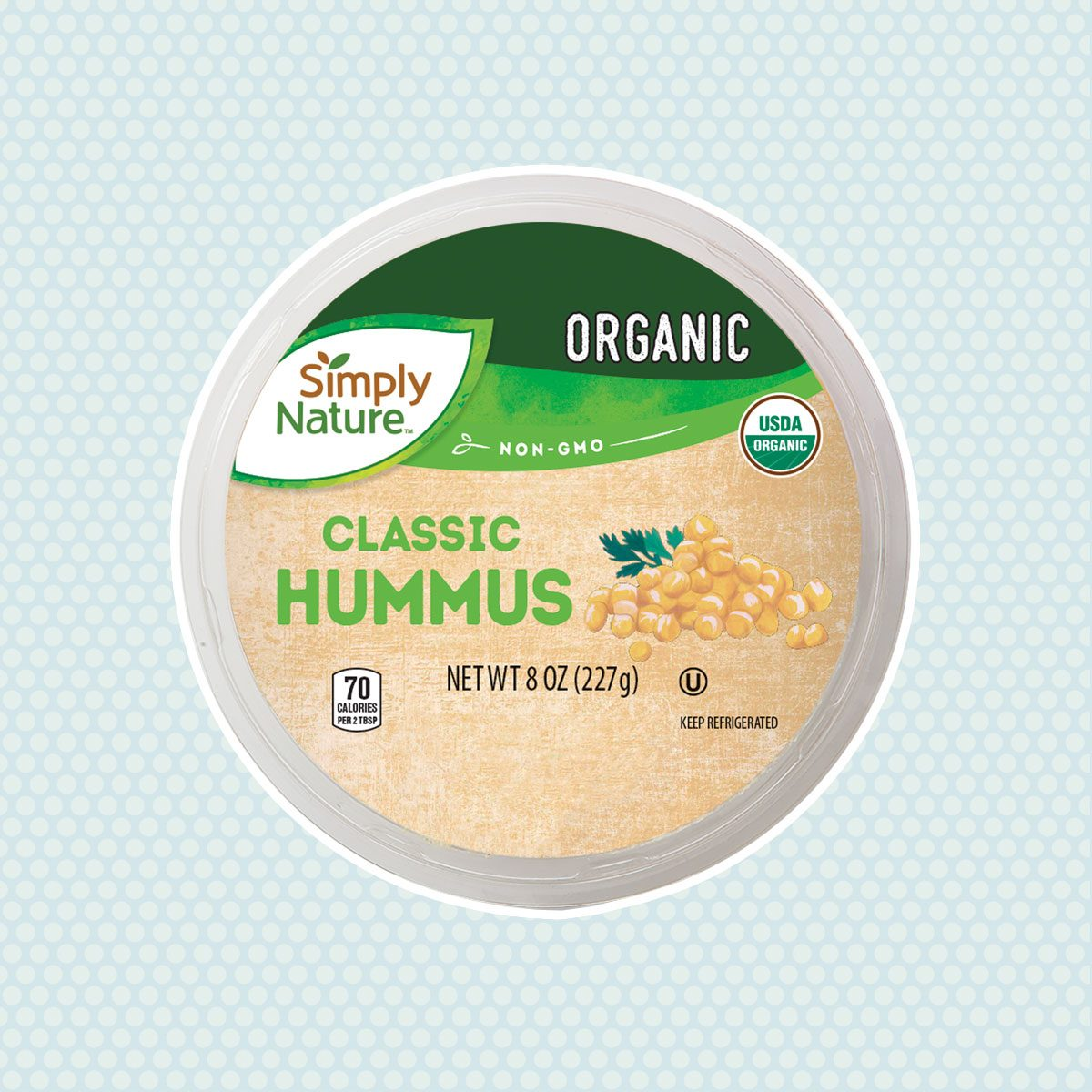 Simply Nature Organic Hummus