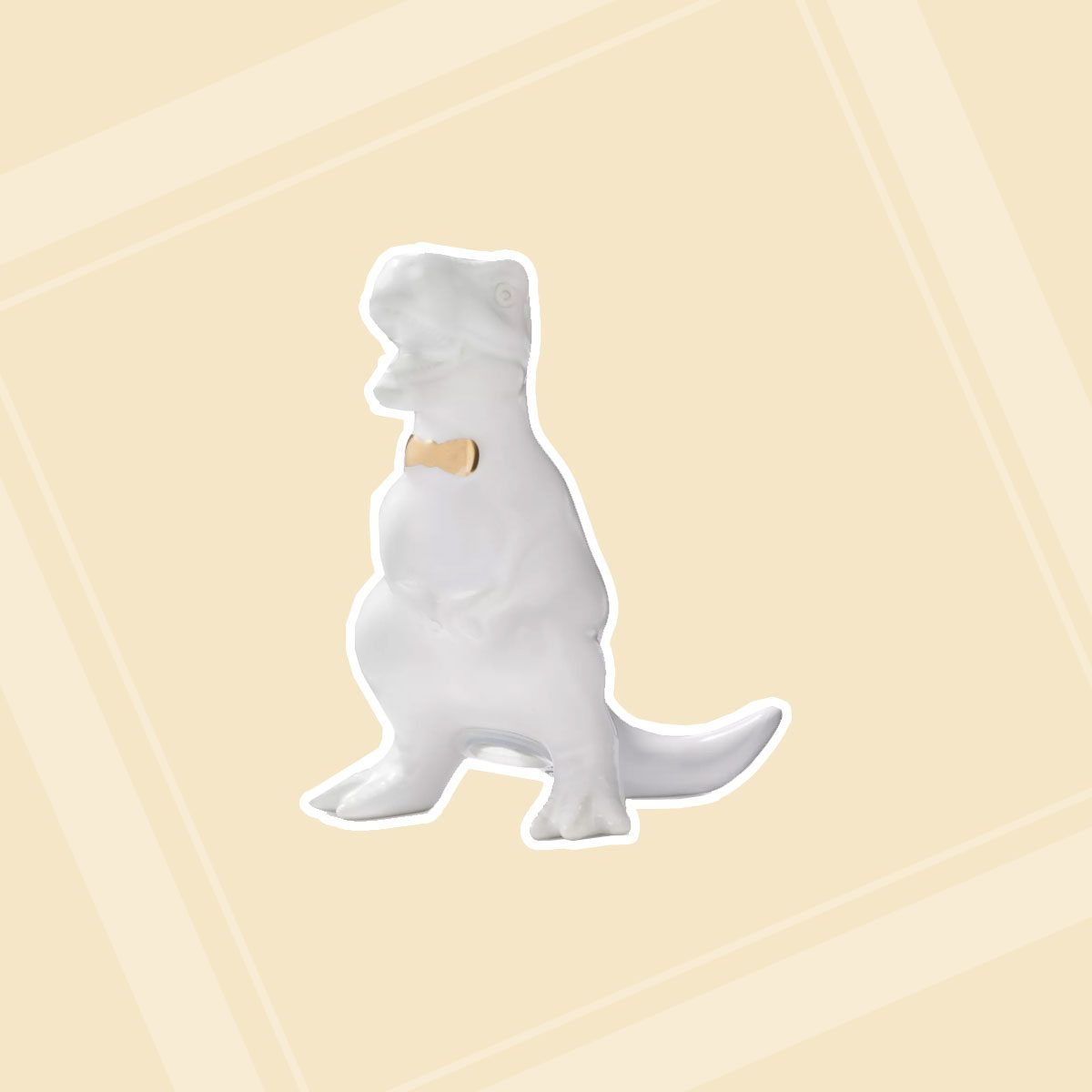 T-Rex Salt Shaker Stoneware White - Threshold™