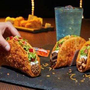 Taco Bell Is Now Serving a Toasted Cheddar Chalupa