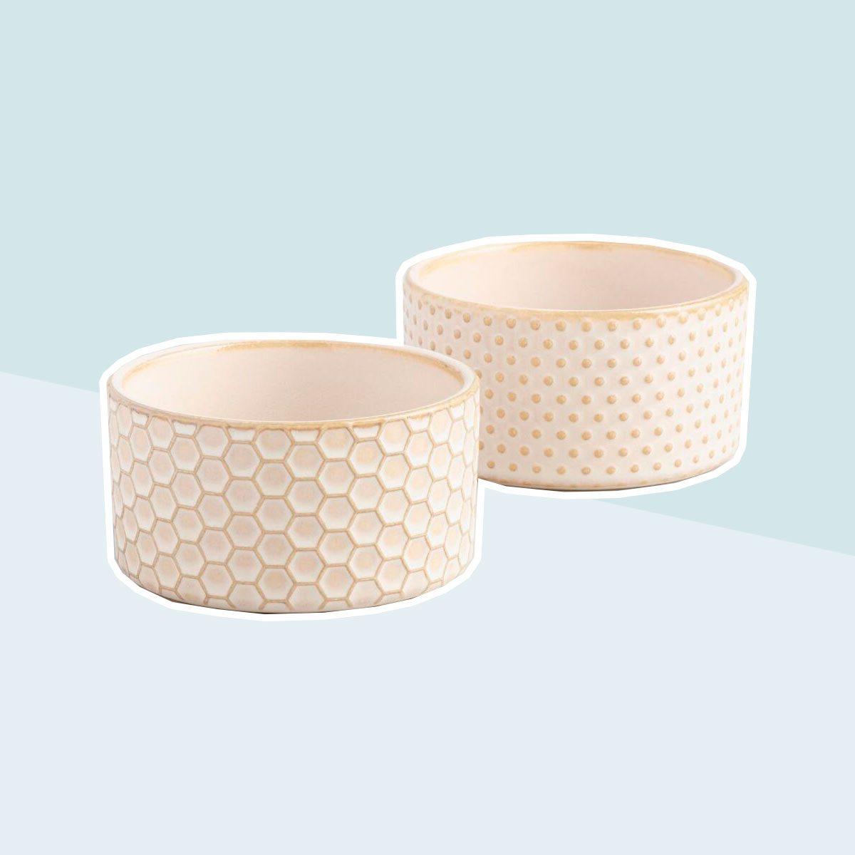 Textured Stoneware Ramekins