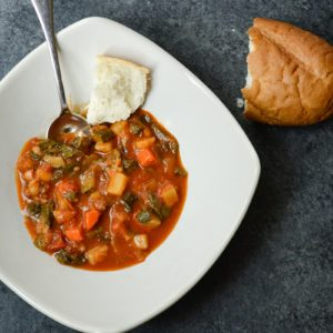 How to Make Vegan Minestrone Soup