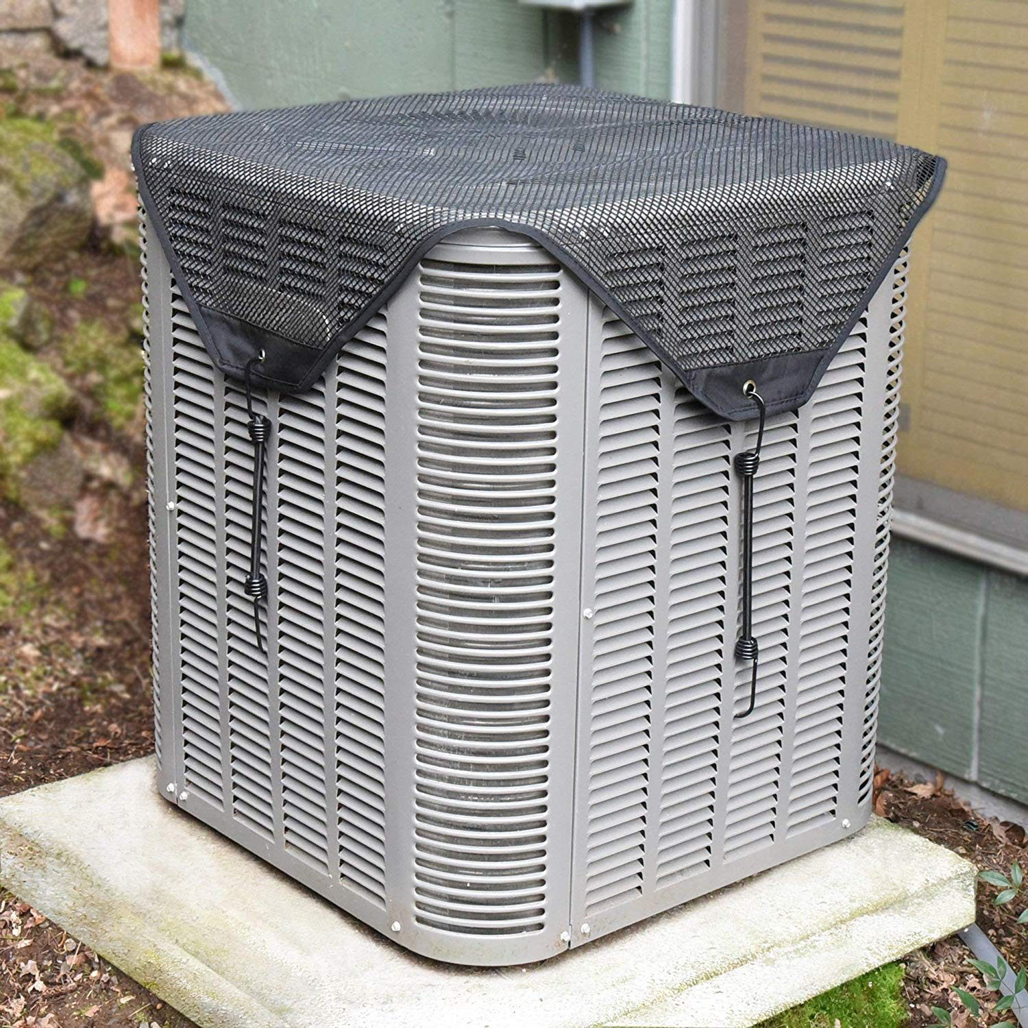 Air conditioner with cover