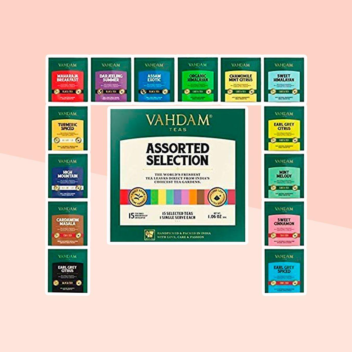 Vahdam Tea Variety Pack