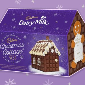 Cadbury's New Christmas Cottage Kit Is Even Better Than Gingerbread