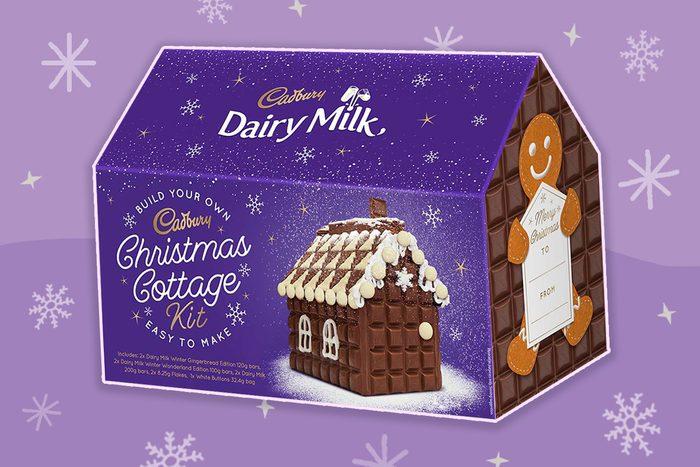 cadbury christmas cottage kit