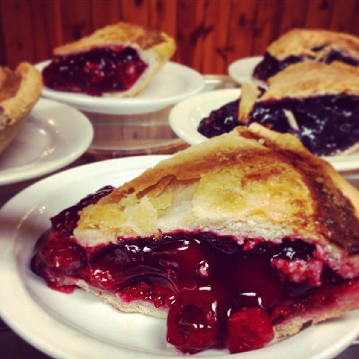 Wall Drug cherry pies