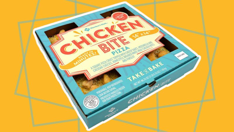 sam's club chicken bite pizza
