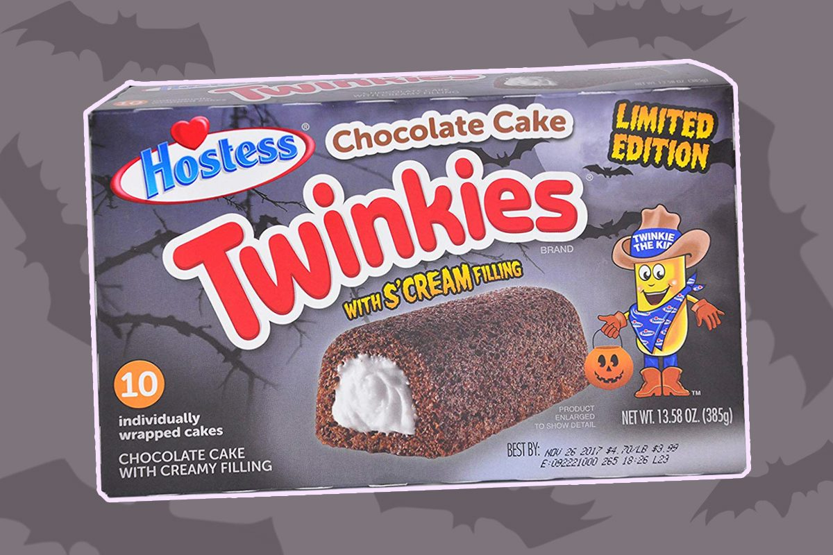 Hostess Is Bringing Back Frightfully Fun Chocolate Twinkies for Halloween