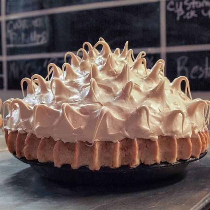 chocolate meringue pies