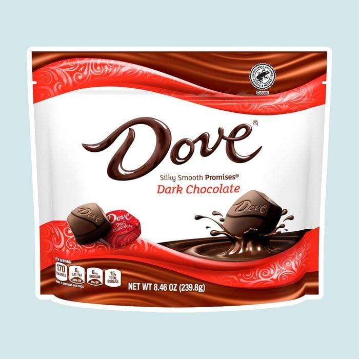 Dove Dark Chocolate gluten free candies