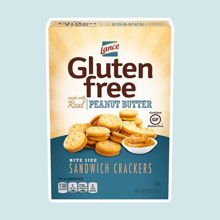 Lance's Gluten Free Peanutbutter Crackers