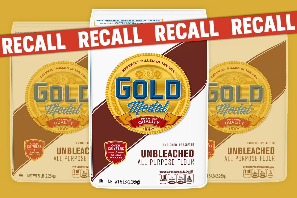 Gold Medal Just Recalled 5-Pound Bags of Flour Nationwide Due to E. Coli Concerns
