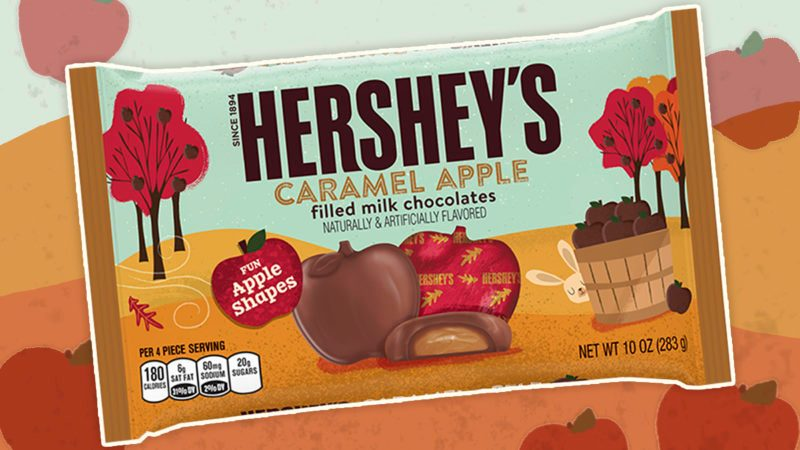 hersheys caramel apple chocolates