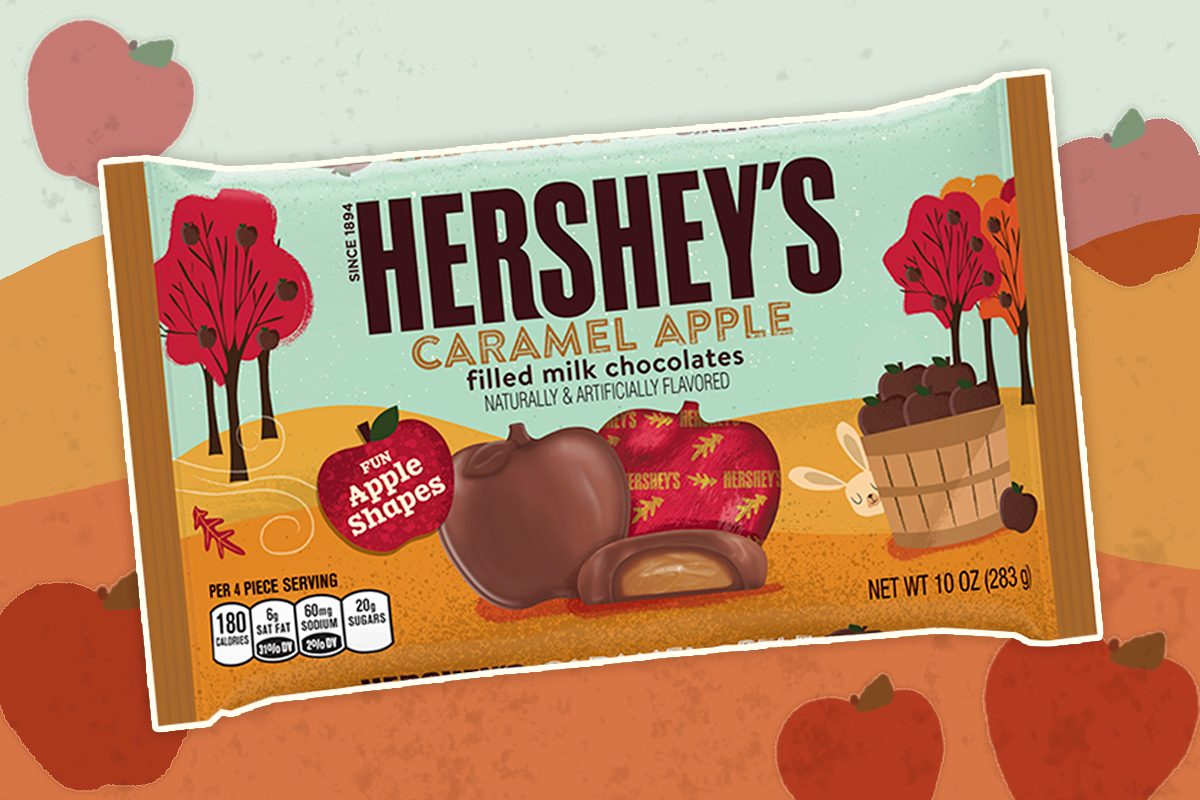 Hershey's Caramel Apple Chocolates Give Every Other Halloween Candy a Run for Its Money