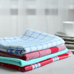 The Secret to Reviving Your Dingy Dish Towels