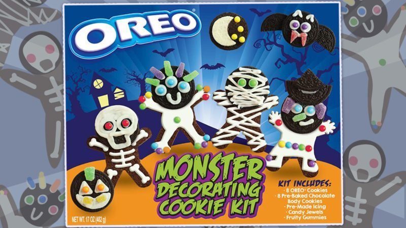 Oreo Has A Halloween Cookie Decorating Kit For Your Little