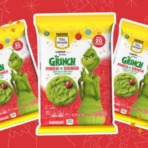 Nestle's New Grinch Cookie Dough Is Mean, Green and Perfect for the Holidays