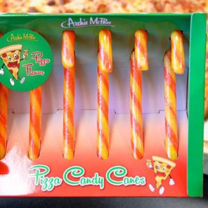 Move Over Peppermint—Pizza Candy Canes Are Here for the Holidays