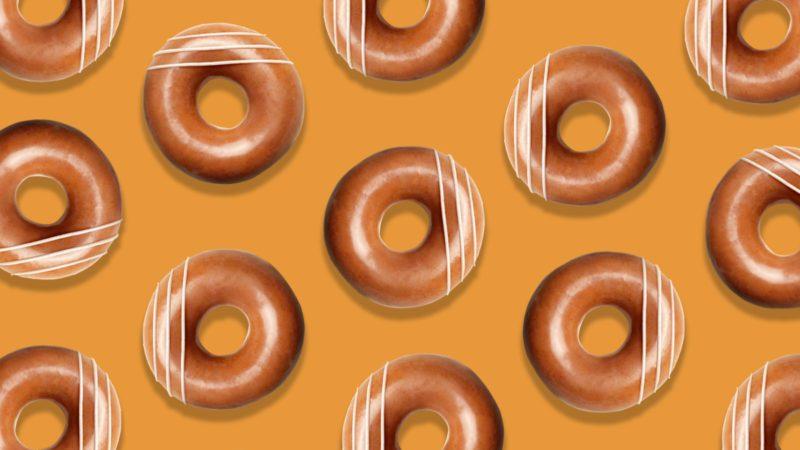krispy kreme pumpkin spice doughnuts