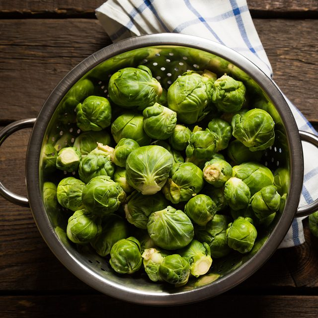 Fresh brussels sprouts; Shutterstock ID 330817340; Job (TFH, TOH, RD, BNB, CWM, CM): Taste of Home