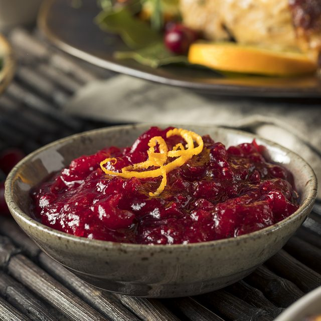 Homemade Thanksgiving Cranberry Sauce with Orange Zest; Shutterstock ID 511437184; Job (TFH, TOH, RD, BNB, CWM, CM): Taste of Home
